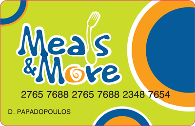 Meals&More Card